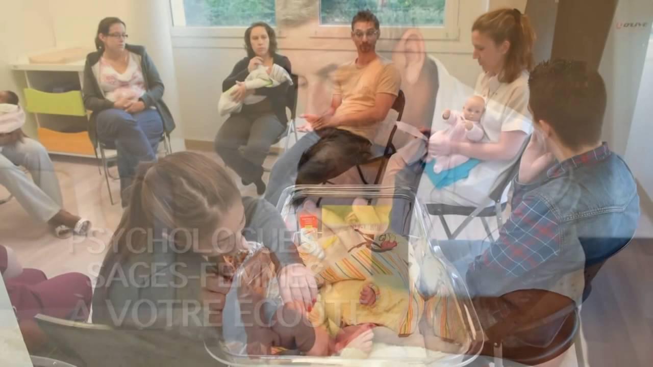 Présentation de la maternité de l\'Hôpital privé d\'Antony - YouTube