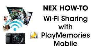 WiFi Pic Share - NEX to Android