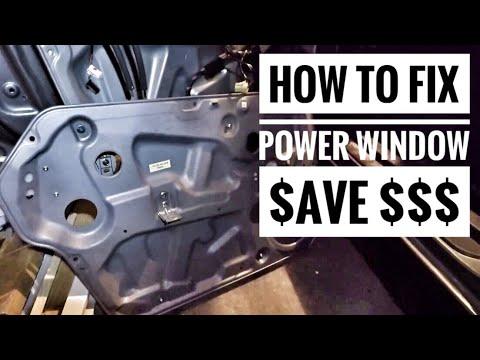Fixing Broken Power Windows On Your Car Save Money