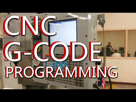 CNC G Code Programming: A CNC Mill Tutorial explaining G Codes