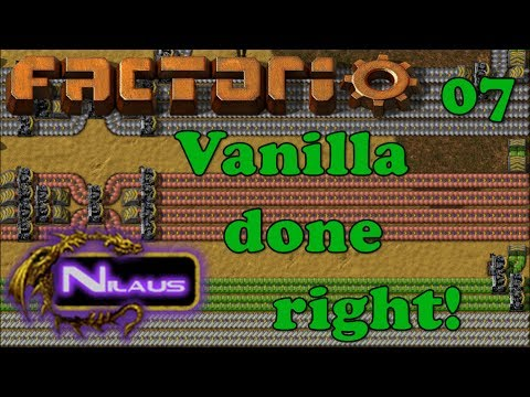 Factorio - Vanilla done right - E07 - Array for Belts and Inserters