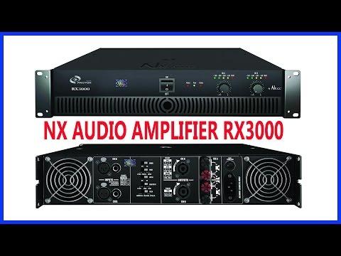 NX AUDIO AMPLIFIER.
