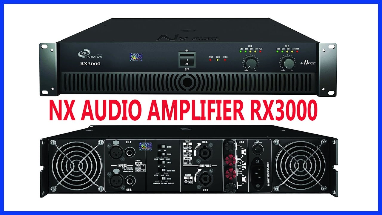 Nx Audio Amplifier Youtube Adresses Of Integrated Circuits Power Amplifiers Manufacturers