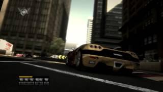 Race Driver Grid [HD] San Francisco-Sprintring Koenigsegg CCXR replay