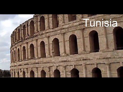 HD El Djem the Roman Amphitheatre in Tunisia - Subtitled