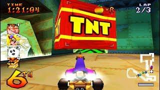 22 Hal KOCAK Yg Dilakukan Saat Main Crash Team Racing PS1