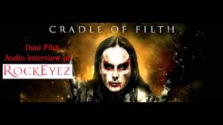 Rockeyez Interview with Dani Filth - Cradle of Filth 5-2014