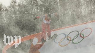 Yes, it's cold at the Winter Olympics. But why is it so windy?