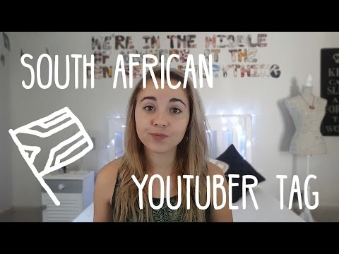 South African YouTuber Tag