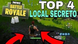 FORTNITE BATTLE ROYALE - TOP 4 LOCAL SECRETO NO FORTNITE PS4/XBOX ONE/PC