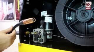 Como Solda com Aluminio usando Solda MIG 205 , MIG250 V8 Brasil