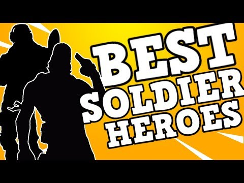 TOP 5 *MUST HAVE* SOLDIER HEROES/PERKS | Best Heroes | Fortnite Save The World?