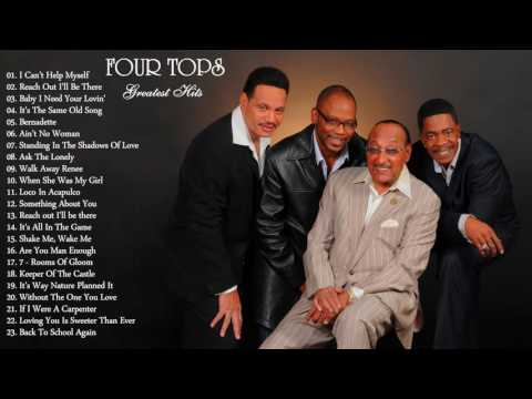 Four Tops`s Greatest Hits | The Best Of Four Tops