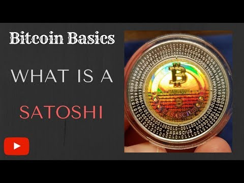 What Is A Satoshi? - Bitcoin Basics