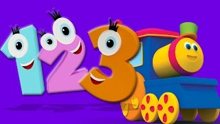 Download Боб Поезд номер песни | 3D Обучающие видео | 3D Educational Video | Bob Train Number Song Mp3 and Videos