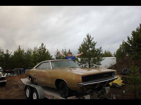 1968 Dodge Charger junkyard find