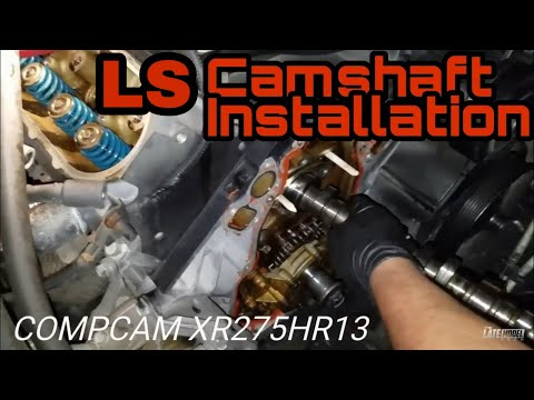 Ultimate GMC Seirra Silverado Ls CamShaft installation Comp Cams tsp