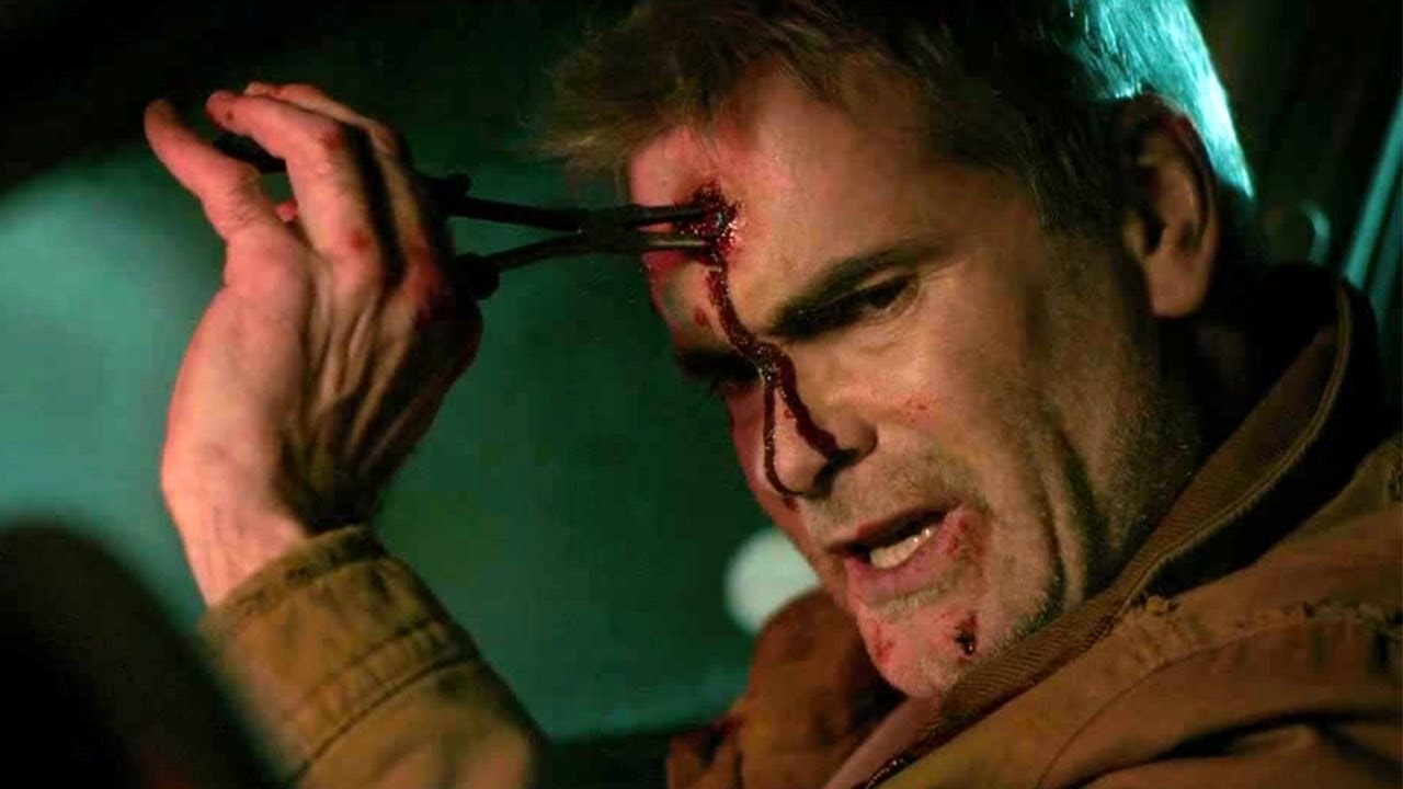 Download HE NEVER DIED: pulling out bullet from head scene