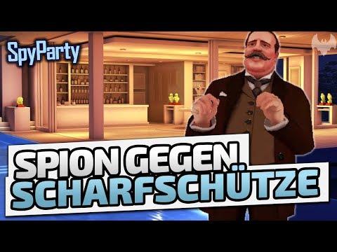 Spion gegen Scharfschütze - ♠ SpyParty #001 ♠ - Deutsch German - Dhalucard