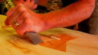How to Make a Rustic Plank Table by Jim the Rustic Furniture Artist Part 41