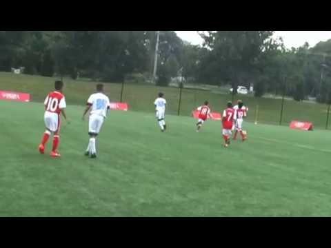 U11 PDA Henry vs Arsenal Ozil Fall 2016 -Petar