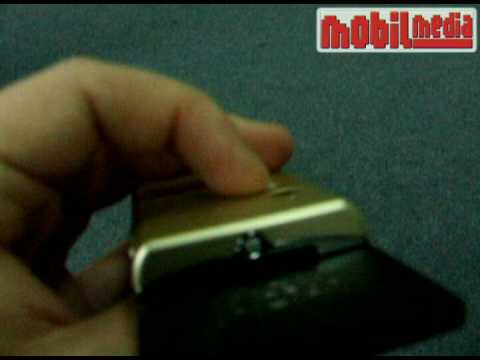 Sony Ericsson G705 mobile phone preview by MobilMedia