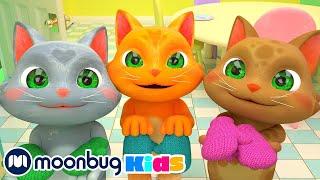 Three Little Kittens |  @Cocomelon - Nursery Rhymes   | Nursery Rhymes & Kids Songs