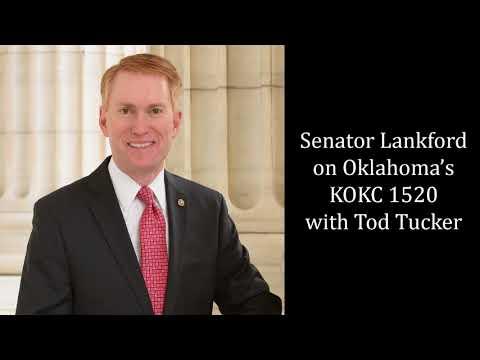 Senator Lankford Joins Tod Tucker on OKC Radio