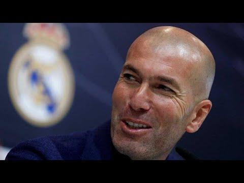 Football : Zinédine Zidane redevient l'entraîneur du Real Madrid