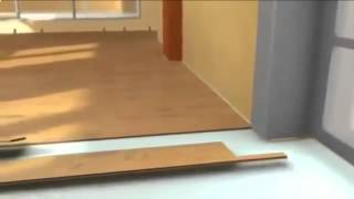 видео Как положить ламинат на неровный пол