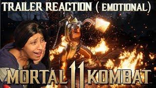[EMOTIONAL REACTION] MORTAL KOMBAT 11 ANNOUNCE TRAILER - OFFICIAL MK 11 TRAILER GAME AWARDS
