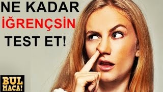 Video İĞRENÇMİSİN ? KENDİNİ TEST ET ! download MP3, 3GP, MP4, WEBM, AVI, FLV Januari 2018