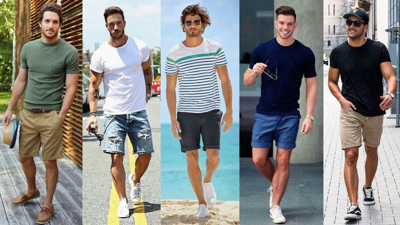 Easy Men's Summer Outfits | Men's 2019 Fashion Outfit Ideas.Summer Fashion Style. 4