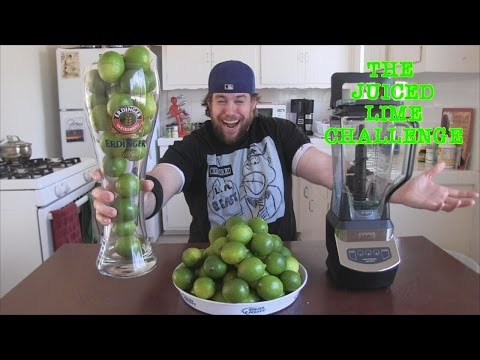 The Juiced Lime Challenge | L.A. BEAST (feat. TheNakids)