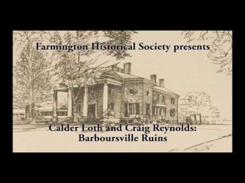 Calder Loth and Craig Reynolds: Barboursville Ruins
