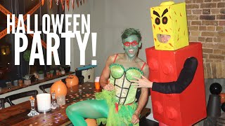 Tom and Lance Get Ready For Halloween! I Tom Daley
