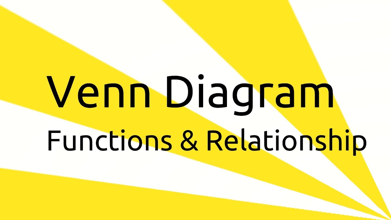 what is venn diagram | set, function, relationship & venn diagram | ca cpt  | cs & cma | class 11