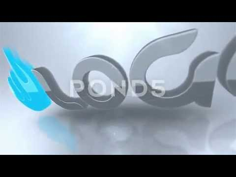 royalty-free-|-extruded-3d-logo-broadcast-intro-animation-ae