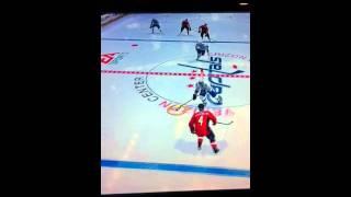 NHL 12 sick deke and goal