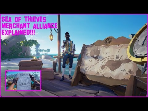 SEA OF THIEVES MERCHANT ALLIANCE: EVERYTHING YOU NEED TO KNOW!!!!