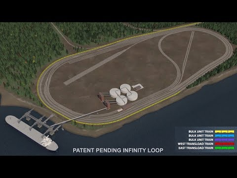 The Infinity Loop: A Better Freight Rail Facility