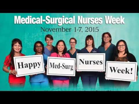 AMSN Med-Surg Nurses Week 2015!