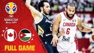 Canada outright dominated Jordan! - Full Game - FIBA Basketball World Cup 2019