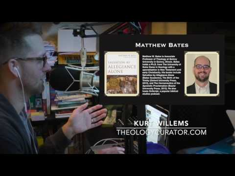 "Matthew Bates on why ""faith"" really means ""allegiance"" in the Bible 