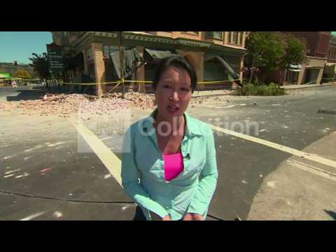 CA EARTHQUAKE- NAPA DAMAGE LOOKLIVE