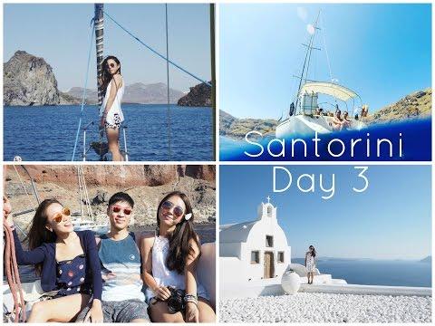 Santorini Day 3 | Vin Santo on a Yacht!
