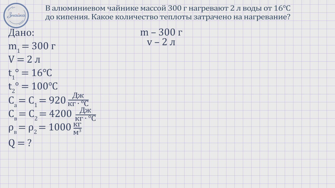 Задача по физике за 8 класс решить скачать программу для решения физических задач