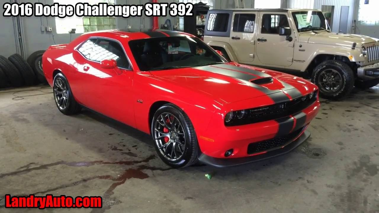 Hellcat Challenger For Sale >> 2016 Dodge Challenger SRT 392 Torred with Twin Black Strips - YouTube