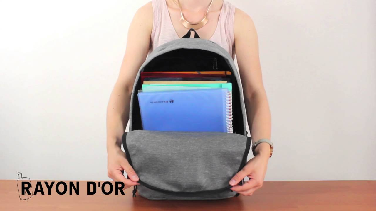 84ceeefa6a Eastpak Back to Work © - Rayon d'Or - YouTube