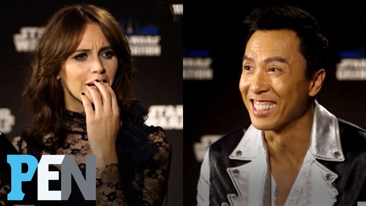 Rogue One: Donnie Yen, Felicity Jones & Cast Answer Kids ...